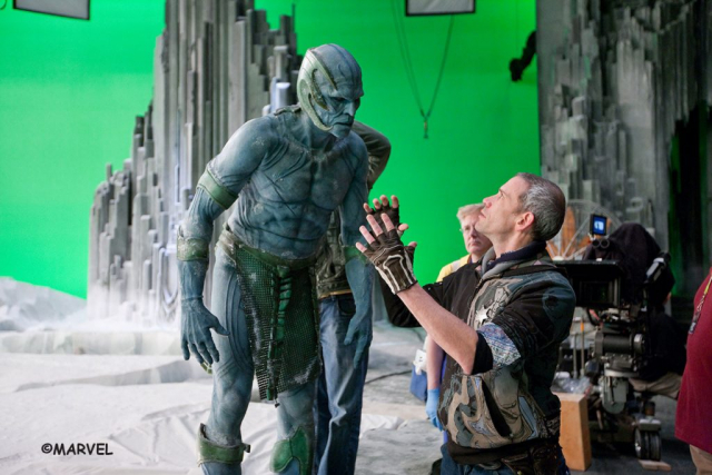 Frost giant direction on set